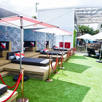 Easigrass South Africa Cocktail Guest Area