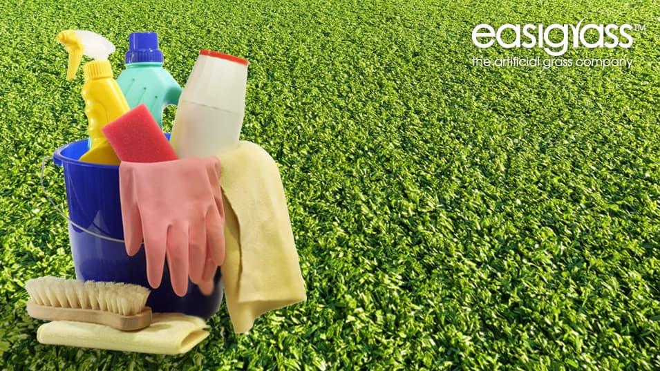 Keeping artificial grass clean